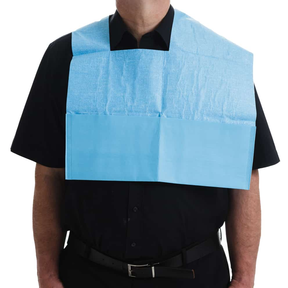 Disposable Endoscopy Bib
